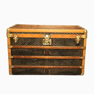 Vintage Steamer Trunk by Goyard, 1930s