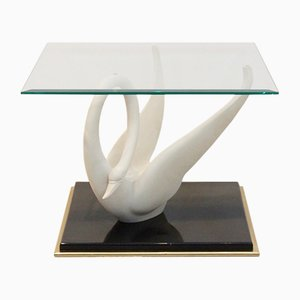 Vintage Swan Table from Maison Jansen