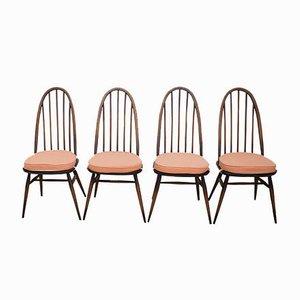 Chaises de Salon Modèle 365 Quaker par Lucian Ercolani pour Ercol, 1960s, Set de 4