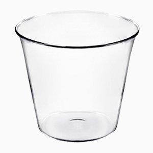 Kleines Plume Gefäß aus geblasenem feuerfestem Glas von Aldo Cibic für Paola C.