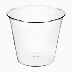 Mittelgroßes Plume Gefäß aus geblasenem feuerfestem Glas von Aldo Cibic für Paola C.