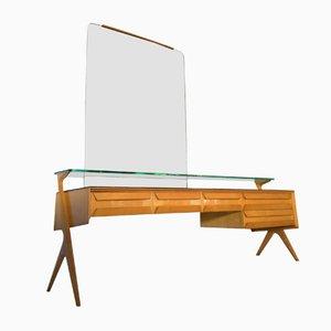 Mid-Century Maple Sideboard Vanity Dresser by Vittorio Dassi & Plinio Dassi, 1950s