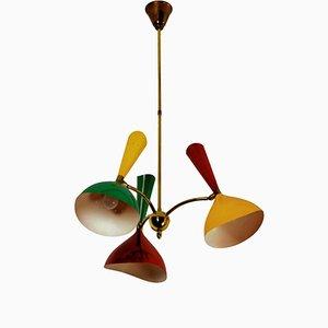 Mid-Century Italian Diabolo Ceiling Lamp from Stilnovo, 1950s