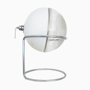 Lámpara de mesa Focus vintage esférica de Fabio Lenci para Guzzini