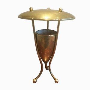 Mid-Century Messing Lampe, 1950er