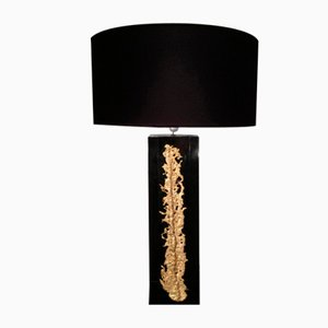 Table Lamp with Bronze Element, 1960s
