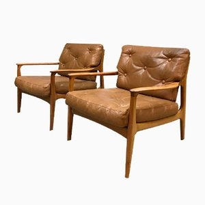 Vintage Lounge Chairs by Eugen Schmidt for Soloform, Set of 2