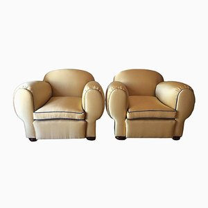 French Art Deco Elephant Armchairs, 1940s, Set of 2