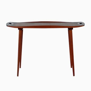 Vintage Danish Teak Tray Table by Harald Quistgaard
