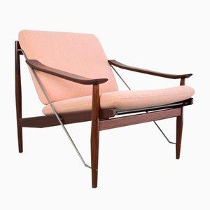 Danish Modern Lounge Chair in Teak, 1950s