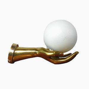 Vintage Messing Handlampe