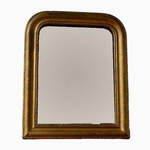 Grand Miroir Antique Doré, France