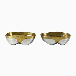 Spanish Brutalist Bowls by David Marshall, 1970s, Set of 2