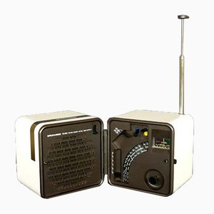 Radio Cube TS 505 de Marco Zanuso & Richard Sapper para Brionvega, 1976