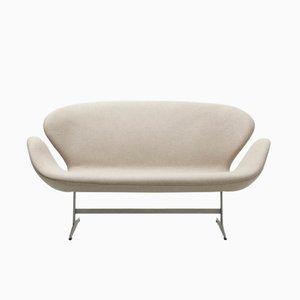 Mid-Century Early Edition Swan Sofa von Arne Jacobsen für Fritz Hansen