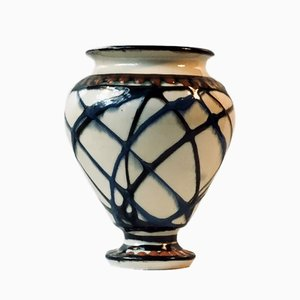 Danish Art Deco Ceramic Vase by Herman August Kähler, 1920s