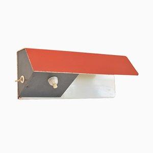 Rote Wandlampe von J.J.M. Hoogervorst für Anvia, 1950er