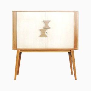 Meuble Tambour Scandinave Moderne, 1960s