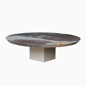 Centrotavola in marmo e ceramica di Tiziana Vittoni Pairazzi per Paira