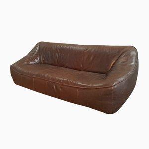 Leder Ringo 3-Sitzer Sofa von Gerard Van Den Berg für Montis, 1980er
