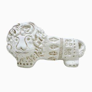 Escultura de león de Aldo Londi para Flavia Montelupo, años 60