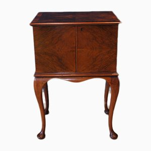 Vintage Walnut Bar Cabinet from Wylie & Lochhead