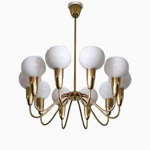 Lámpara de araña sueca de latón