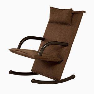Rocking Chair T-Line par Burkhard Vogtherr pour Arflex, 1980s
