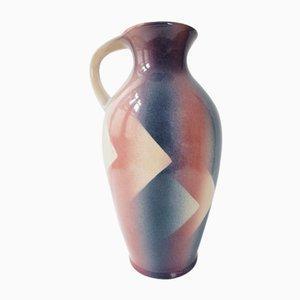 Jarrón 651-45 alemán de cerámica de Bay Keramik, años 60