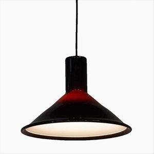 Lámpara colgante P&T P&T Pendant Lamp de Michael Bang para Holmegaard, años 70