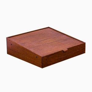 Teak Box by A.B. Madsen & E. Larsen for Willy Beck, 1950s