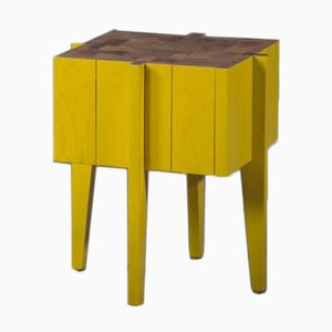 Cube Stool Side Table by Alon Dodo