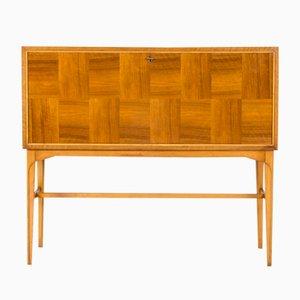 Mueble bar de caoba de Carl-Axel Acking, años 50