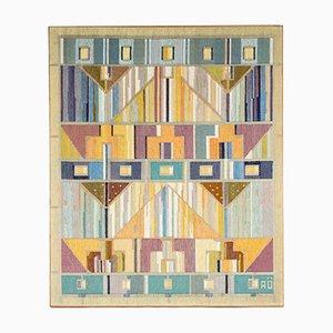 Vintage Wall Tapestry by Agda Österberg for Tre Bäckar, 1940s