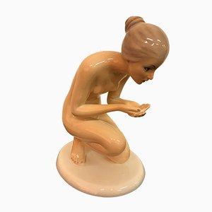 Keramik Skulptur von Ronzan, 1950er