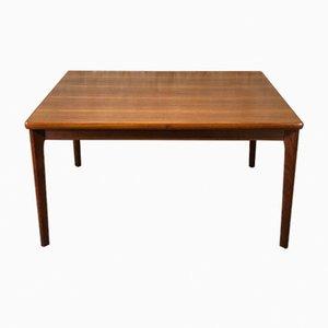 Vintage Teak Extendable Dining Table by Henning Kjaernulf