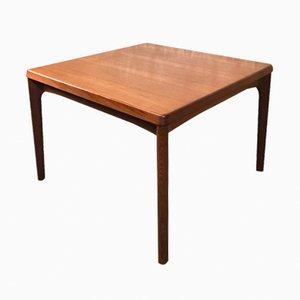 Tavolino da caffè in teak di Henning Kjaernulf per Vejle Mobelfabrik, anni '60