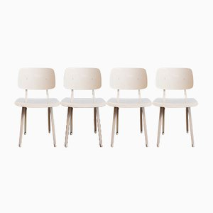 Revolt Chairs by Friso Kramer for Ahrend de Cirkel, 1950s, Set of 4