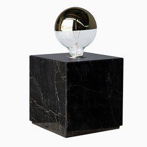 Galilei Granit Lamp in Portoro Marble by Tiziana Vittoni Pairazzi for Paira