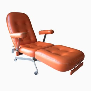 Orange Skai Lounge Chair, 1970s