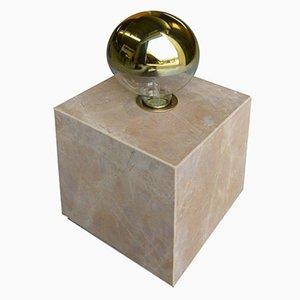 Galilei Granit Lampe aus Giallo Siena Marmor von Tiziana Vittoni Pairazzi für Paira