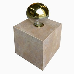 Lampe en Granit Galilei & Marbre Siena par Tiziana Vittoni Pairazzi pour Paira