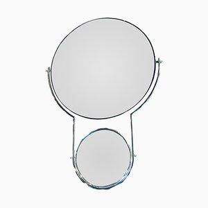 Italian Mirror by Rodney Kinsman for Bieffeplast, 1980s