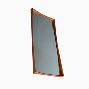 Danish Teak-Framed Wall Mirror, 1960s