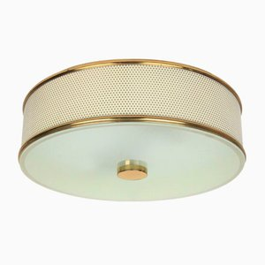 Large Ceiling Lamp by Pierre Guariche, 1950s