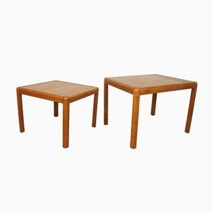 Tables Basses en Teck, 1960s, Danemark, Set de 2
