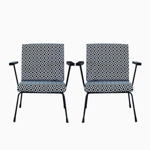 Vintage 415/1407 Armchairs by Wim Rietveld & Andre Cordemeyer for Gispen, Set of 2
