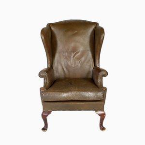 Vintage Leder Sessel von Parker Knoll