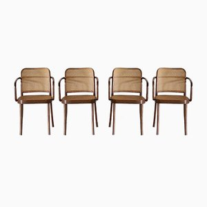 No. A811 or Prague Armchairs by Josef Hoffmann for FMG & Thonet, 1950s, Set of 4