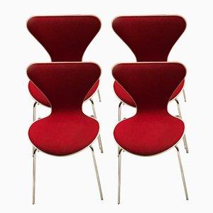 Mid-Century Series 7 Stühle von Arne Jacobsen für Fritz Hansen, 4er Set